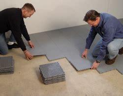 Floor Vapor Barrier by Finished Basement Ideas