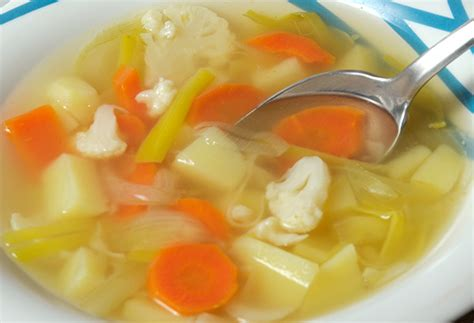 soupe de legumes varies recette facile pour votre soupe