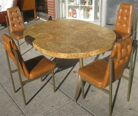 1950s kitchen table and chairs uhuru furniture collectibles sold retro kitchen table