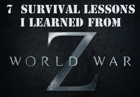bad neighborhood survival guide critical survival lessons on how to stay safe in dangerous parts of the city books lessons i learned from world war z the with a prep