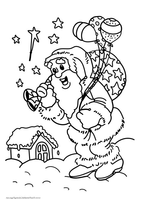 christmas coloring pages for kids coloring town