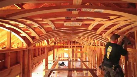 archways and raised ceilings features to put your groin vault ceiling time lapse youtube