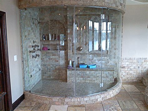 Tiling Ideas For Small Bathrooms custom showers a amp m glass
