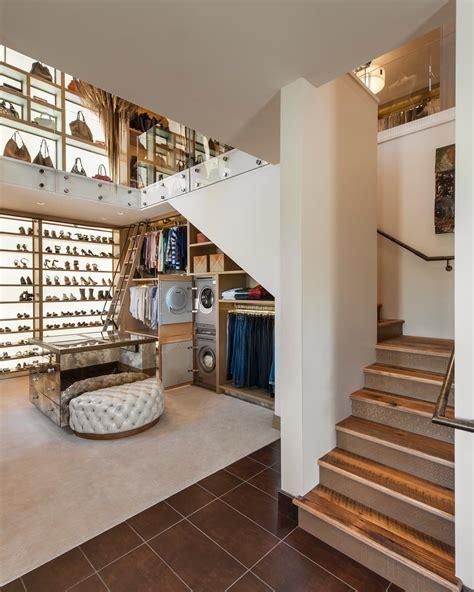 The In The Closet Story by Two Story Walk In Closet With Built In Home Office Fresh