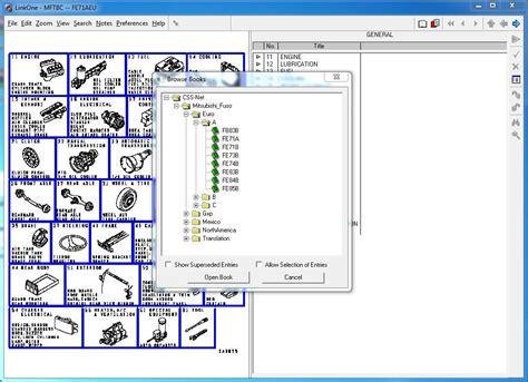 Mitsubishi Software mitsubishi fuso trucks parts manual software epc all models serial the best manuals