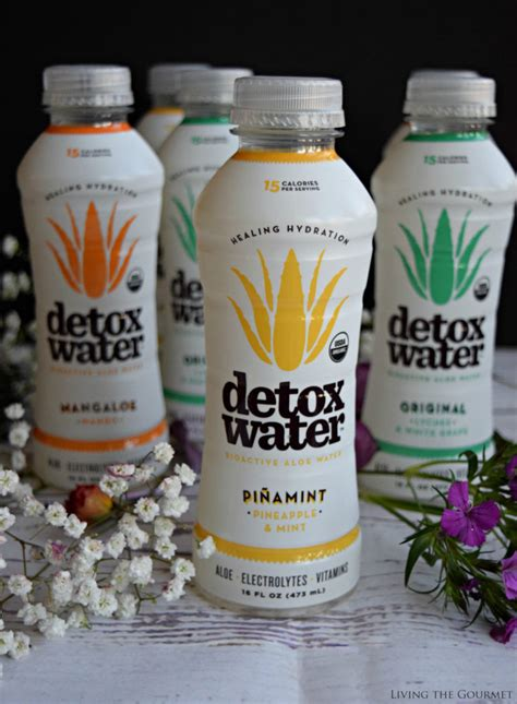 Planet K Detox Drinks by Mocktails With Detoxwater Living The Gourmet