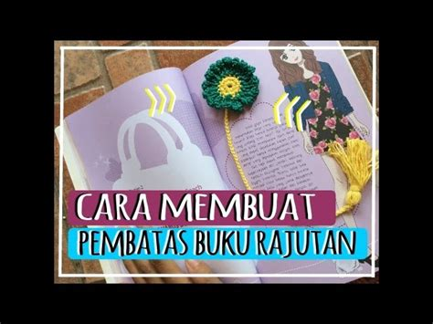 cara membuat cover buku pdf cara membuat pembatas buku rajut detail my crafts and