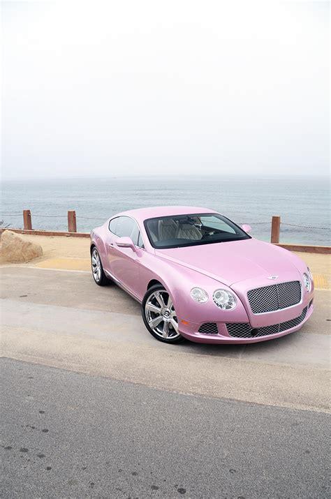 pink bentley unique passion pink 2012 bentley continental gt