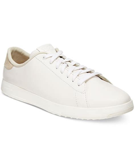 cole haan womens shoes cole haan s grandpro tennis lace up sneakers