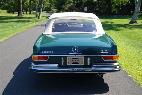 carriage house mercedes 1971 mercedes benz 280se 3 5 cabriolet