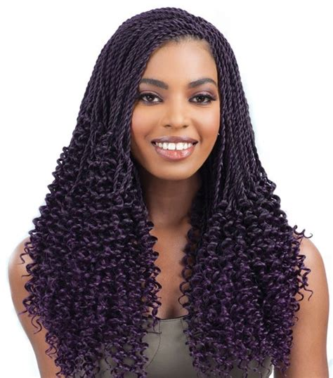 pre braided hair pre twisted crochet hair styles creatys for
