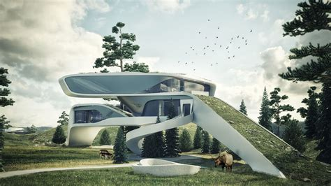 futuristic home designs cgarchitect professional 3d architectural visualization