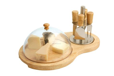 Best Kitchen Knives Block Set cheese board with cover amp 4 knives wholesale china