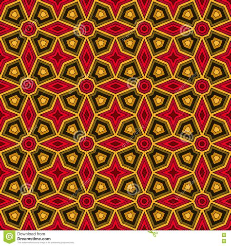 africa vector traditional background pattern bright ethnic abstract background kaleidoscope seamless