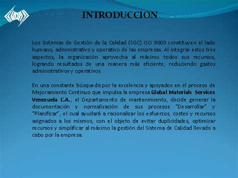 preguntas para hacer una conclusion normalizaci 243 n y documentaci 243 n de los procesos de trabajo