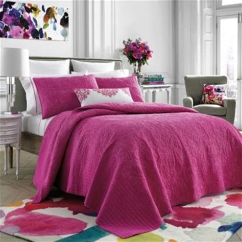 pink coverlet queen buy pink full queen quilt from bed bath beyond