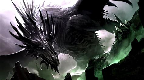 dark dragon wallpaper widescreen dark dragon wallpapers wallpaper cave