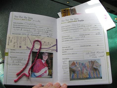 printable knitting journal knitting journal crafty pinterest