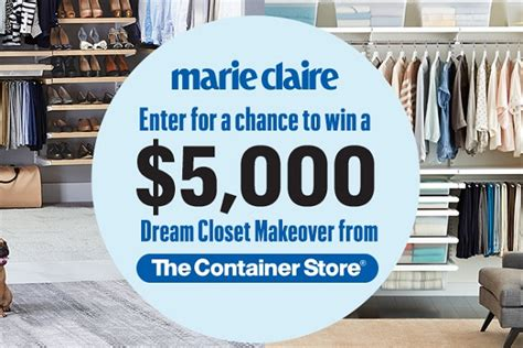 Marie Claire Sweepstakes - marie claire the container store sweepstakes sweepstakesbible