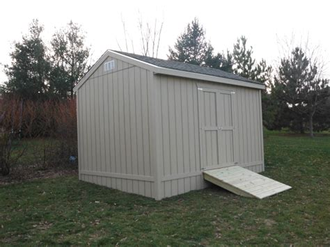 the shed option shed specialty options mainus construction waterford