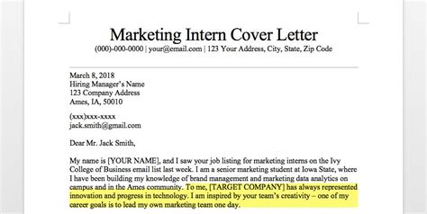 Sle Cv And Guide by 14707 Marketing Internship Cover Letter Marketing Intern