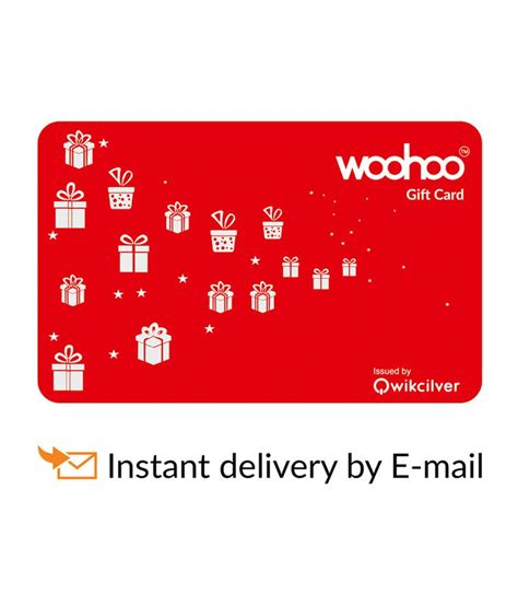 B Q Gift Card Discount - woohoo e gift card buy online on snapdeal