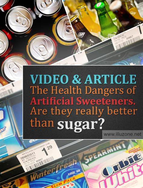 is splenda better than aspartame article the health dangers of artificial