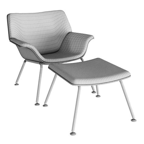 herman miller swoop lounge chair herman miller swoop lounge 3d model max obj fbx