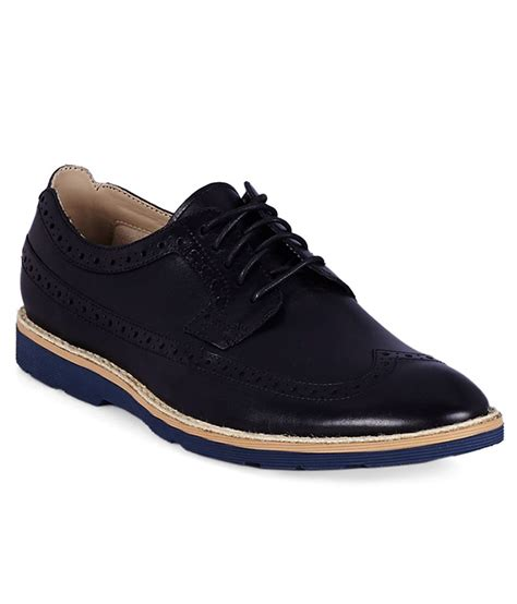 buy clarks black formal shoes for snapdeal