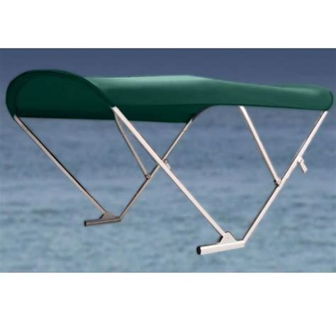electric boat canopy electric automatic power pontoon bimini top with black frame