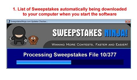 Sweepstake Software - sweepstakes software giveaway lightweight watermark software tech glows internet