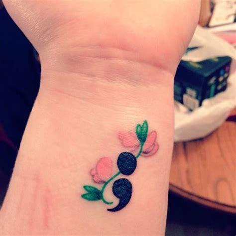semicolon meaning tattoo semicolon tattoo 30 inspirational semicolon designs feminine
