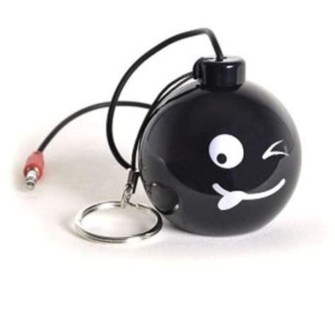 Speaker Mini Bomb hype bomb rechargeable mini portable keychain speaker