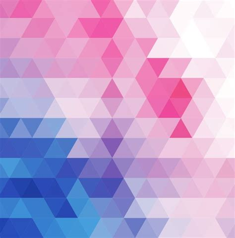 mosaic graphic pattern vector abstract multicolored triangular mosaic background