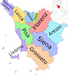 Provinces Of Italy Map by File Map Of Region Of Tuscany Italy With Provinces De