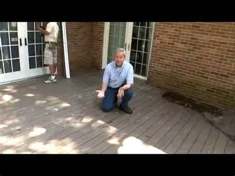 how to clean a composite how to clean composite decks youtube