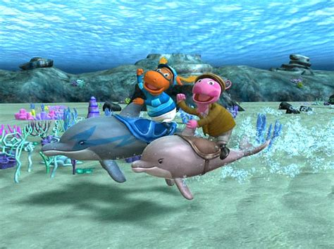 Backyardigans Race The Greatest Dolphin Race The Backyardigans Wiki