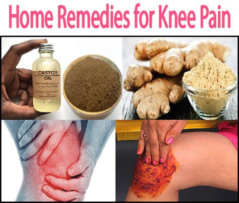 home remedies to get rid of knee arthritis naturally