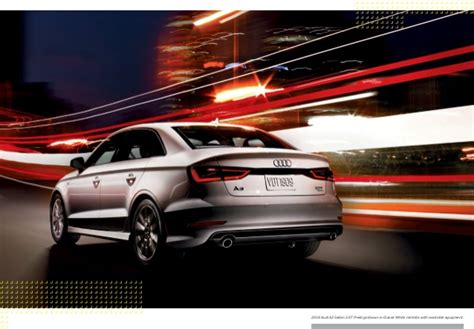 Audi Dealership Orange County 2016 Audi A3 Brochure Audi Dealer Orange County