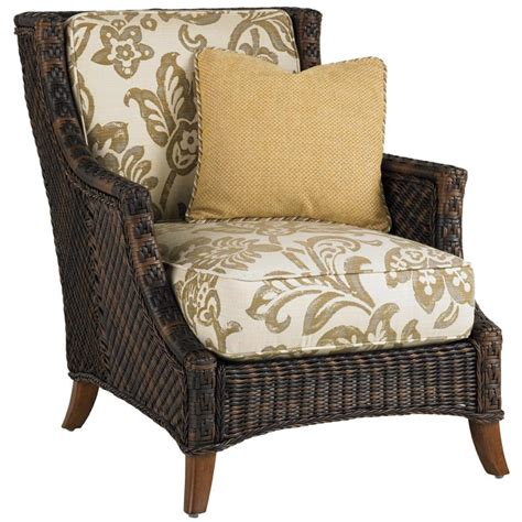 Patio Club Chair by Bahama Island Estate Lanai Wicker Patio Club Chair