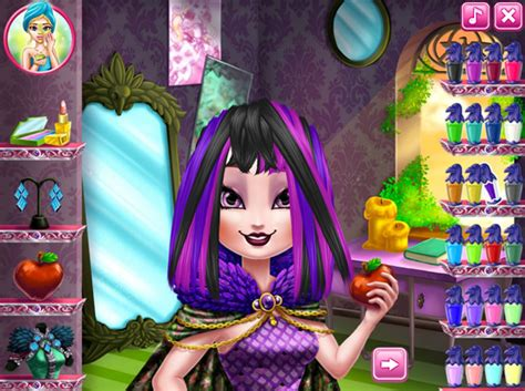 real haircuts games ever after high raven queen real haircuts girls games gamingcloud