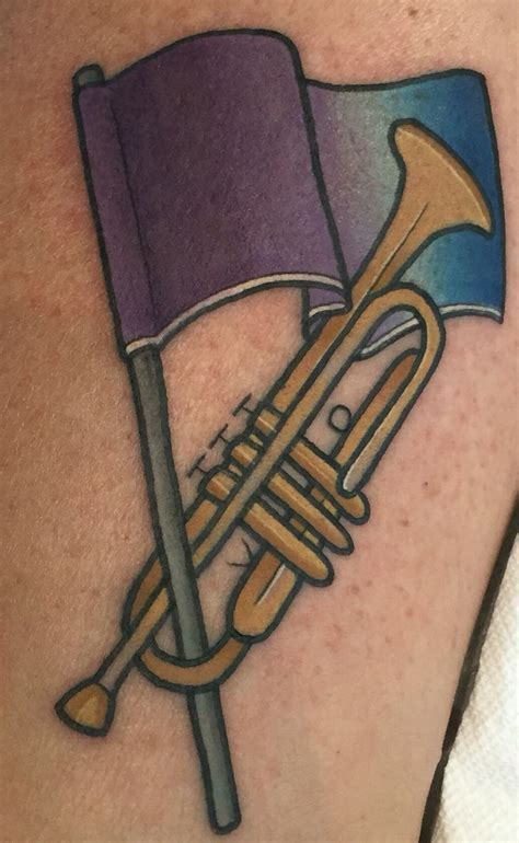 trumpet tattoo 17 best ideas about trumpet on