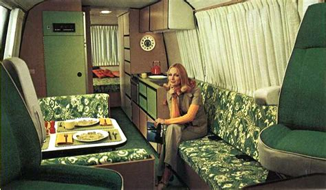 retro home interiors cers of shag part 2 another look inside groovy rv s