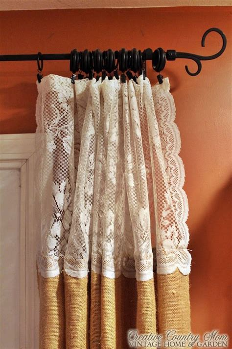 sewing drapes best 25 rustic curtains ideas on pinterest rustic