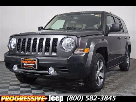 jeep patriot 2017 high altitude 2017 jeep patriot high altitude sport utility in