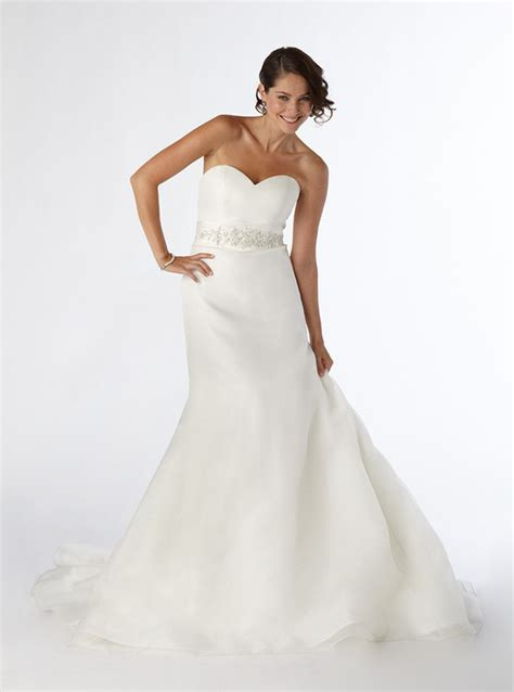 netted wedding dresses disney s strapless form fitting netted lace