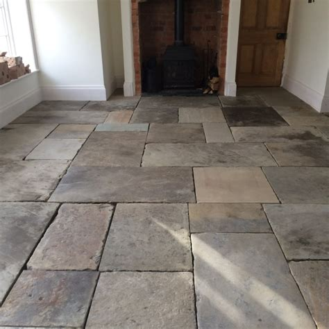 york flagstone floors cleaned and polished