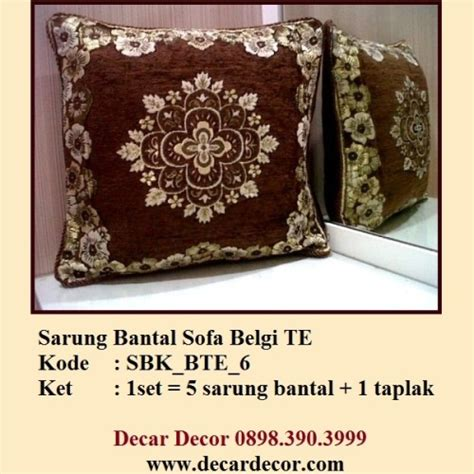 Sarung Bantal Sofa Set Merak jual sarung bantal turki