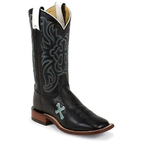 cheap womens black cowboy boots shoebacca tony lama s black ol buck cowboy boots