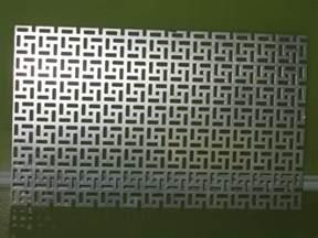 decorative metal screen panels